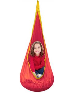 Indoor Sensory Pod Swing Red