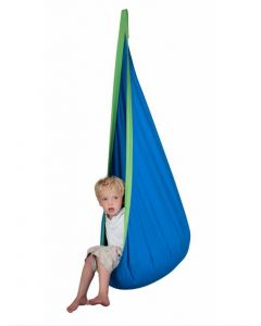 Indoor Sensory Pod Swing Blue