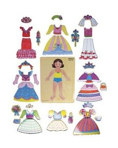 Magnetic Princess Dress Up