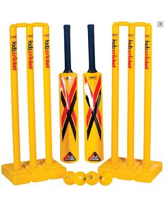 Kids Cricket Set Yellow with Carry Bag