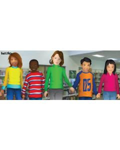 Multicultural Kids Table Puzzle 20pcs