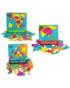 Geographic Nations Puzzle Set of 3