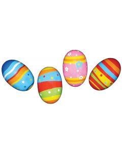 Wooden Egg Maracas 4pcs