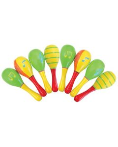 Small Maracas Set 8pcs