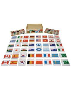 Flags of The World in Box 48pcs