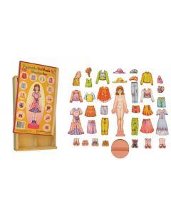 Magnetic Dress Up Girl 36pcs