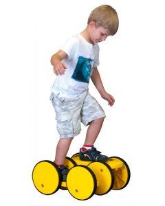 Six Wheel Pedal Roller
