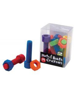 Nuts and Bolts Crayons 12pcs
