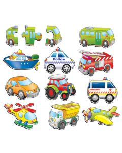 Transport Puzzle Set of 10