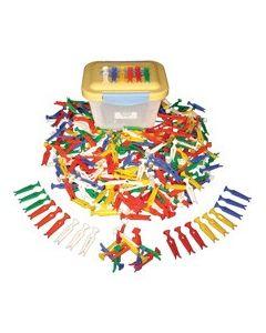 Multicoloured Pegs 300pcs