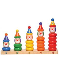 Clowns Stacking Board