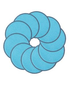 Ten Frames Carpet Discs Blue Set of 10