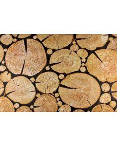 Cut Logs Playmat 150cmW x 100cmH