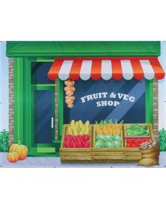 Fruit Shop Backdrop 2mW x 1.5mH