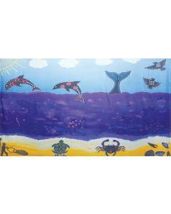 Indigenous Underwater Backdrop 3mW x 1.7mH