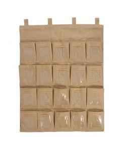 Hessian Parent Pockets 20 Space