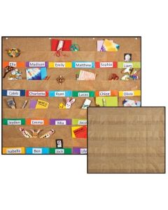 Hessian Message/Display Wall Hanger