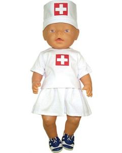 Doll's Nurse Outfit