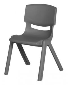 Stacking Resin Chair Slate 40cm