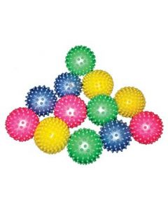 Small Spiky Tactile Balls Set of 12