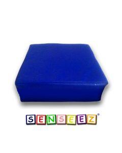 Senseez Vibrating Cushion Blue Square