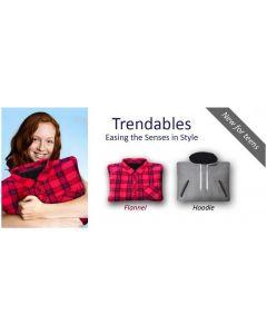 Senseez Hoodie and Shirt Tactile Vibrating Sensory Pillows Set of 2