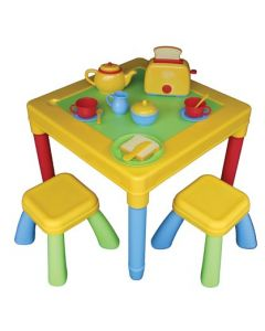 Breakfast Table with Accessories