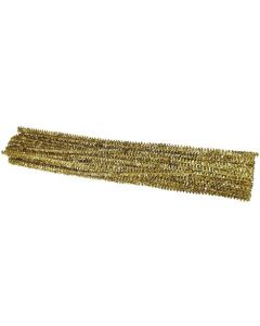 Chenille Stems Tinsell Gold 100pcs