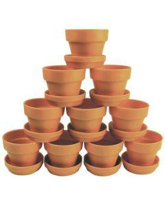 Pots & Saucers 10pcs