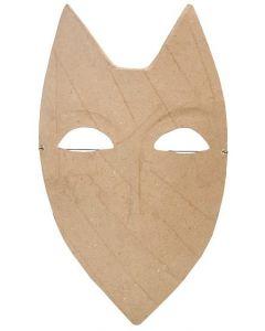 Papier Mache Shield Face Mask