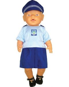Policewoman Doll's Clothes