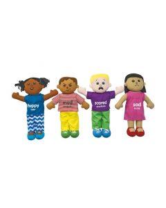 Emotions Plush Dolls Set of 4