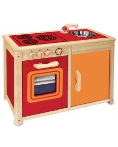 Stove, Sink, Oven and Cupboard Unit