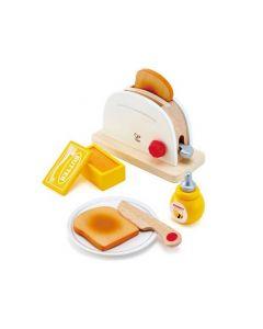 Wooden Pop Up Toaster Set 7pcs