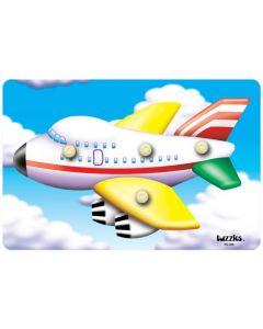 Knobbed Jumbo Jet Puzzle 4pcs