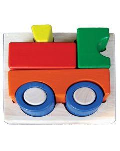 Train Tray Puzzle 5pcs