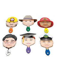 Occupations Paddle Set of 6