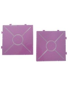 Iron On Bead Pattern Plates - Squares