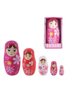 Babushka Nesting Dolls 5pcs