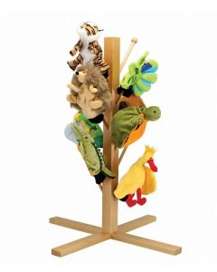 Wooden Puppet and Dress Up Stand