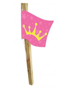 Princess Flag with Hoist System