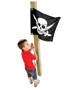 Pirate Flag with Hoist System