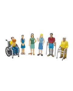 People With Disabilities Set of 6