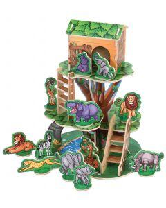 Jungle Treehouse Playset 52pcs