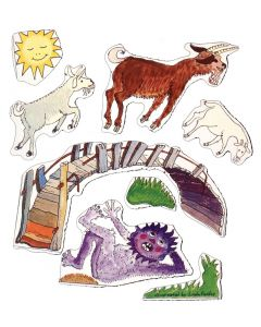 Three Billy Goats Gruff Magnetic Story