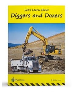 Big Book 'Let's Learn About Diggers and Dozers'