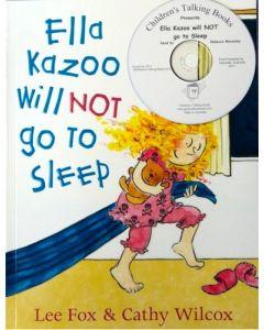 Ella Kazoo Will Not Go To Sleep CD & Book