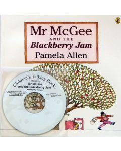 'Mr McGee & The Blackberry Jam' Listening Post Set 4 Books & 1 CD