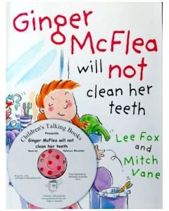 Ginger McFlea Will Not Clean Her Teeth CD & Book