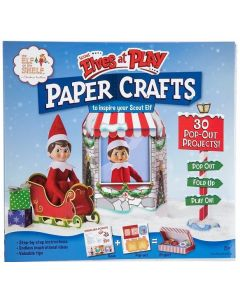 Scout Elves at Play: 3D Paper Crafts